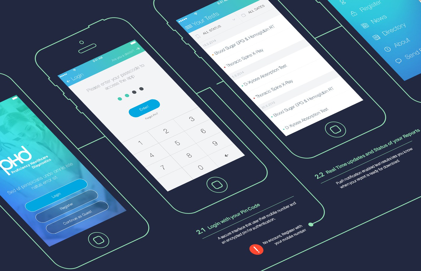 mobile app design in dubai